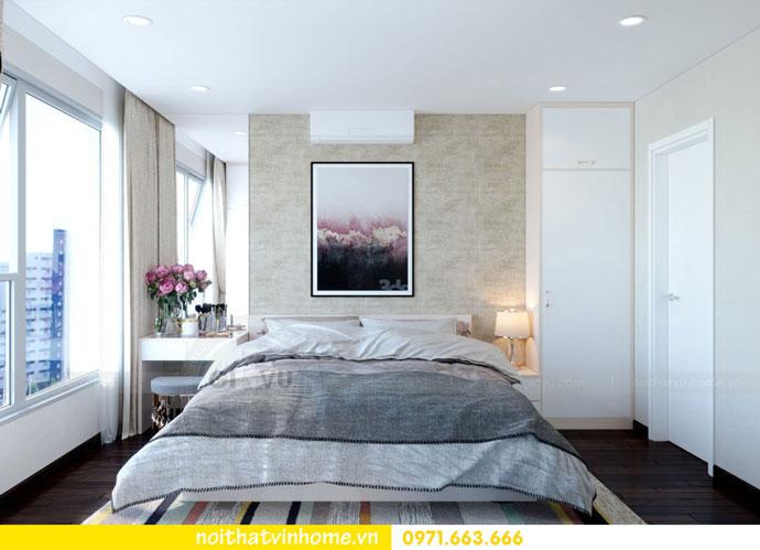 thiết kế nội thất căn hộ chung cư đẹp tòa C1 căn 11 DCapitale 07