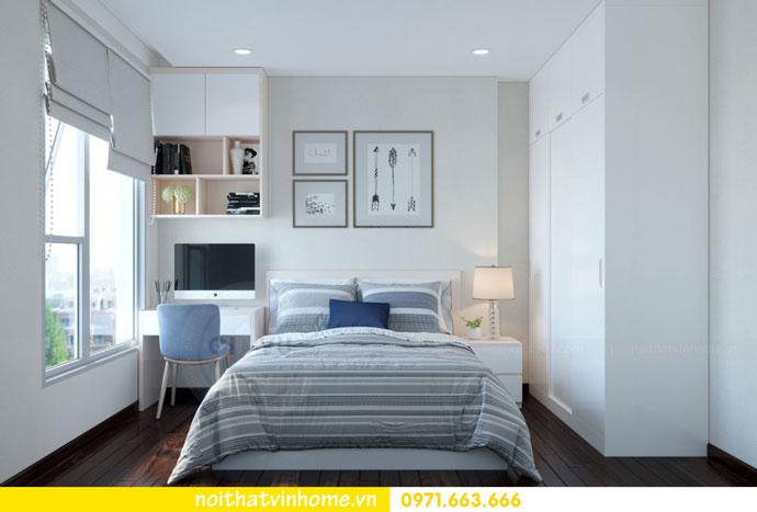 thiết kế nội thất căn hộ chung cư đẹp tòa C1 căn 11 DCapitale 09