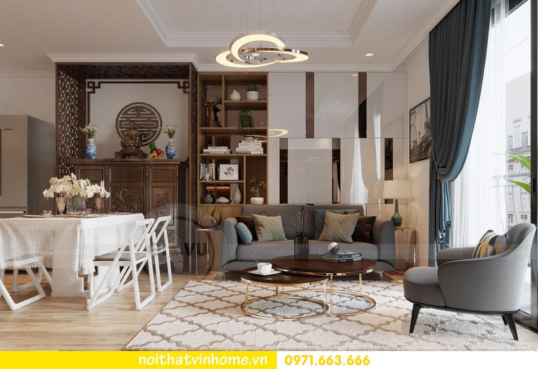 thiết kế nội thất căn hộ chung cư Park Hill tòa P2 căn 08 3