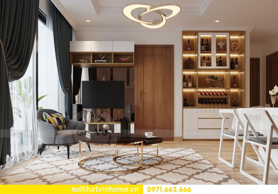 thiết kế nội thất căn hộ chung cư Park Hill tòa P2 căn 08 5
