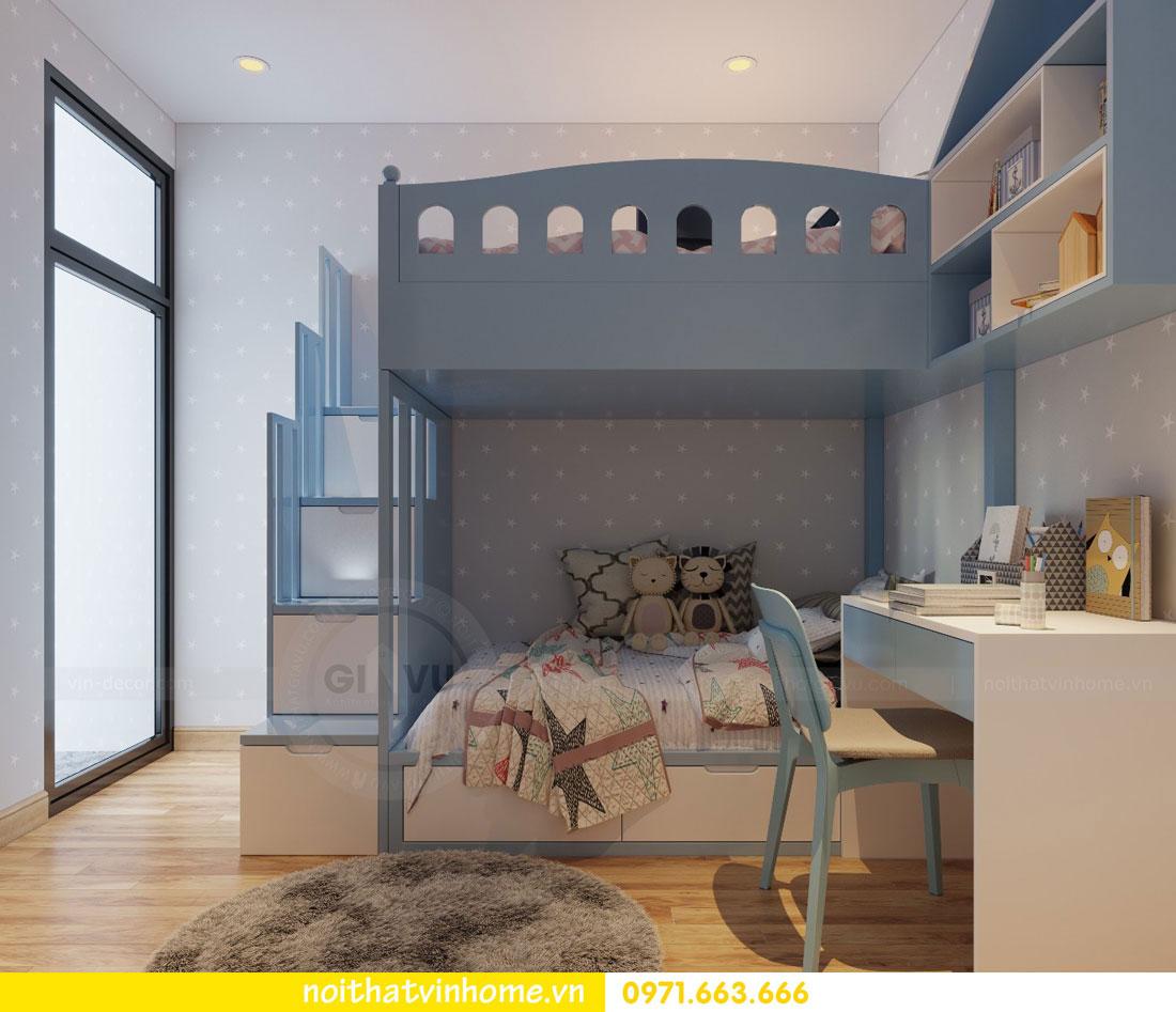 thiết kế nội thất căn hộ chung cư Park Hill tòa P2 căn 08 9
