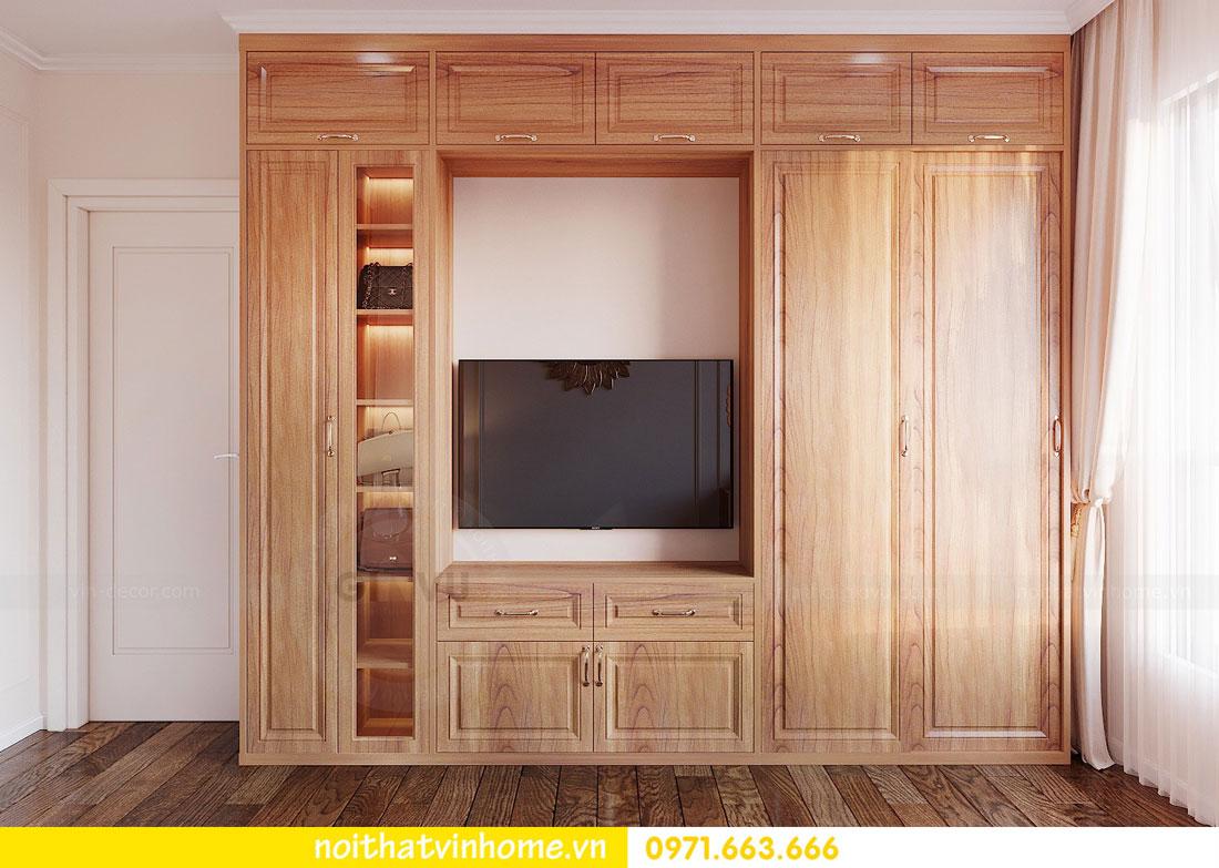 thiết kế nội thất căn hộ với gỗ sồi tự nhiên 7