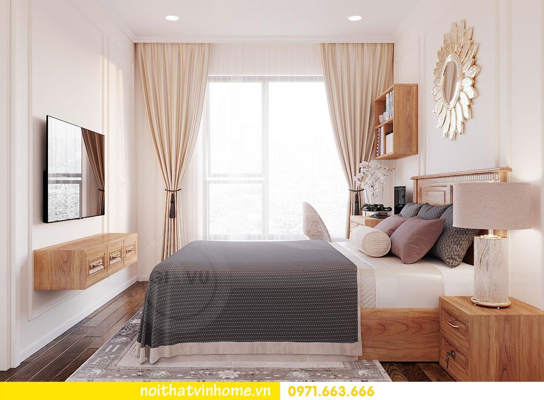 thiết kế nội thất căn hộ với gỗ sồi tự nhiên 8