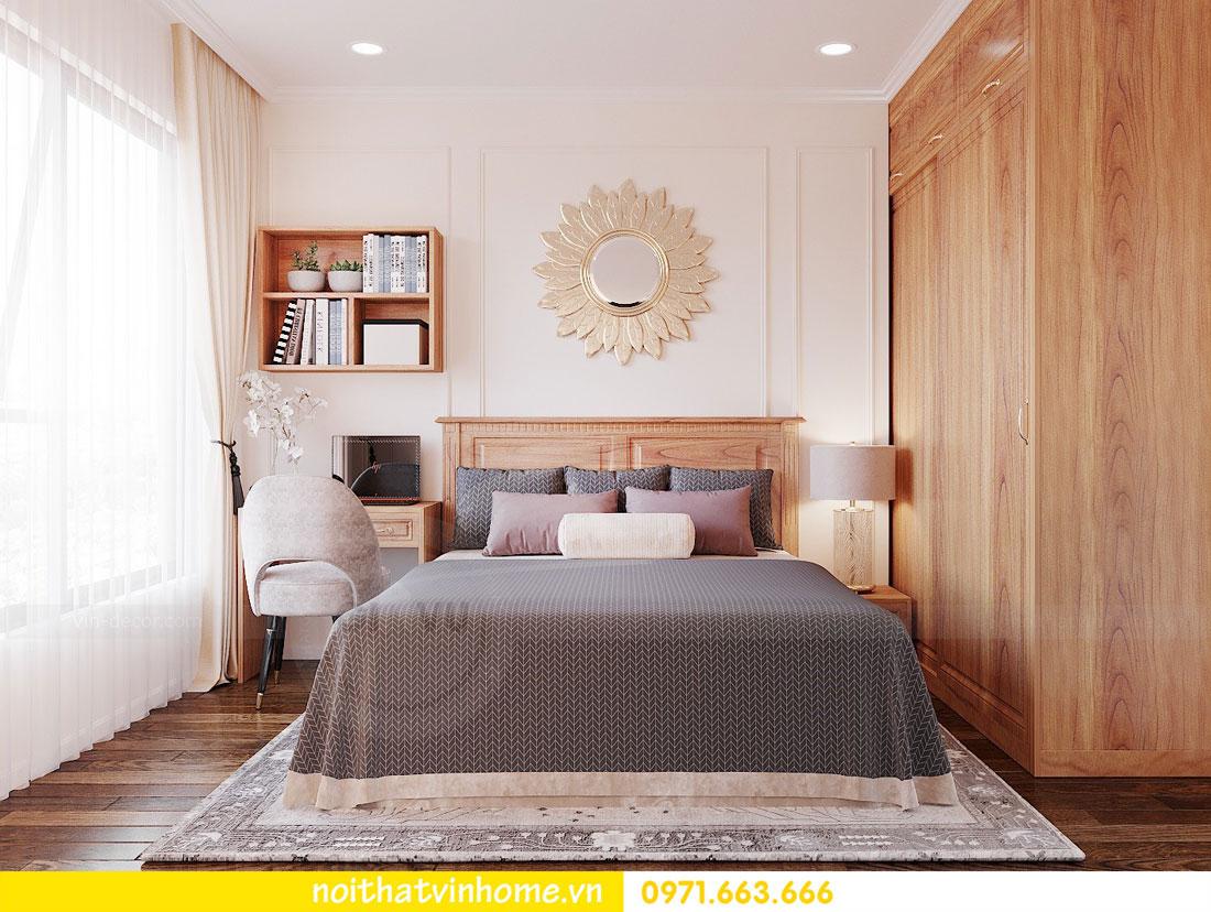 thiết kế nội thất căn hộ với gỗ sồi tự nhiên 9