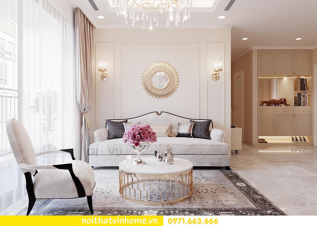 thiết kế nội thất cao cấp căn hộ 3 phòng ngủ nhà anh Phương 02