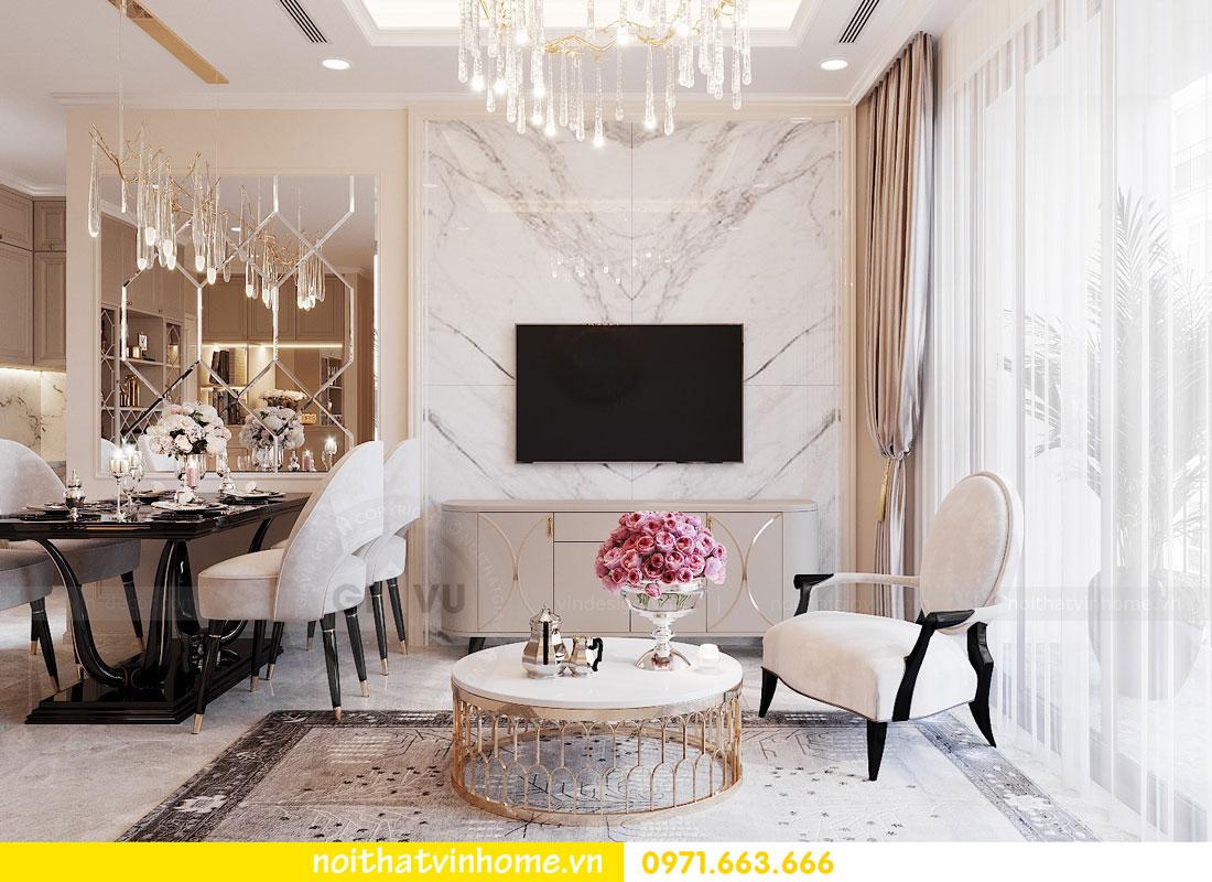 thiết kế nội thất cao cấp căn hộ 3 phòng ngủ nhà anh Phương 03