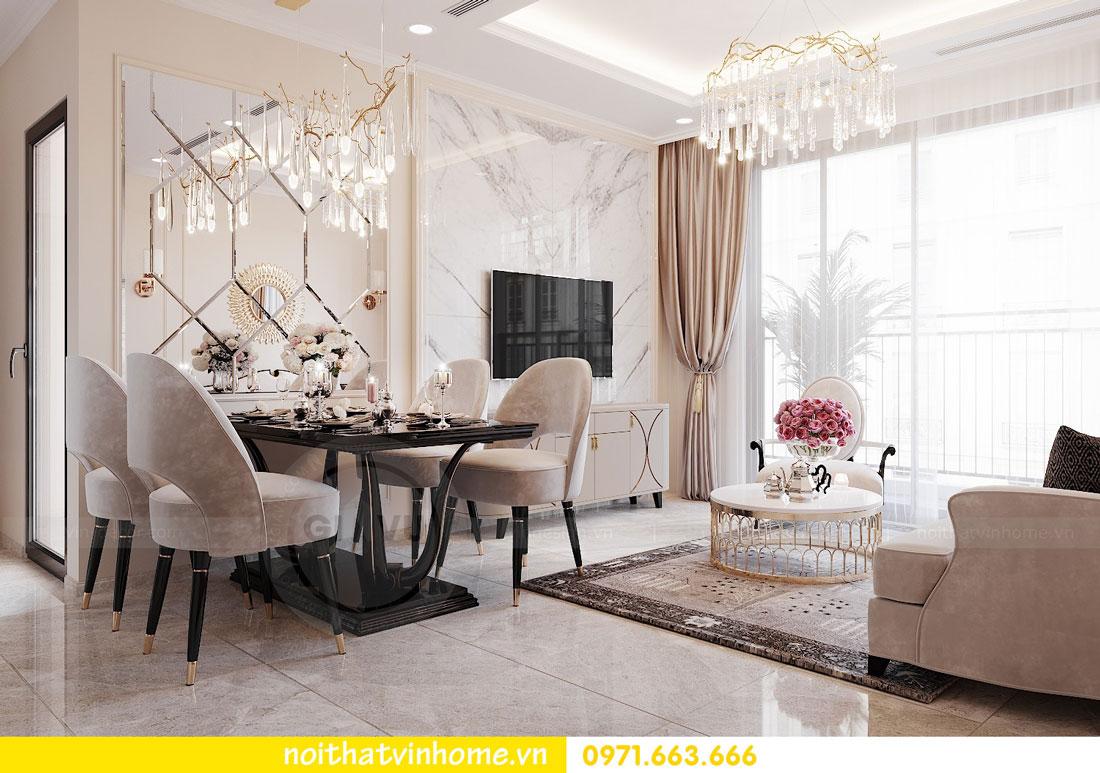 thiết kế nội thất cao cấp căn hộ 3 phòng ngủ nhà anh Phương 04