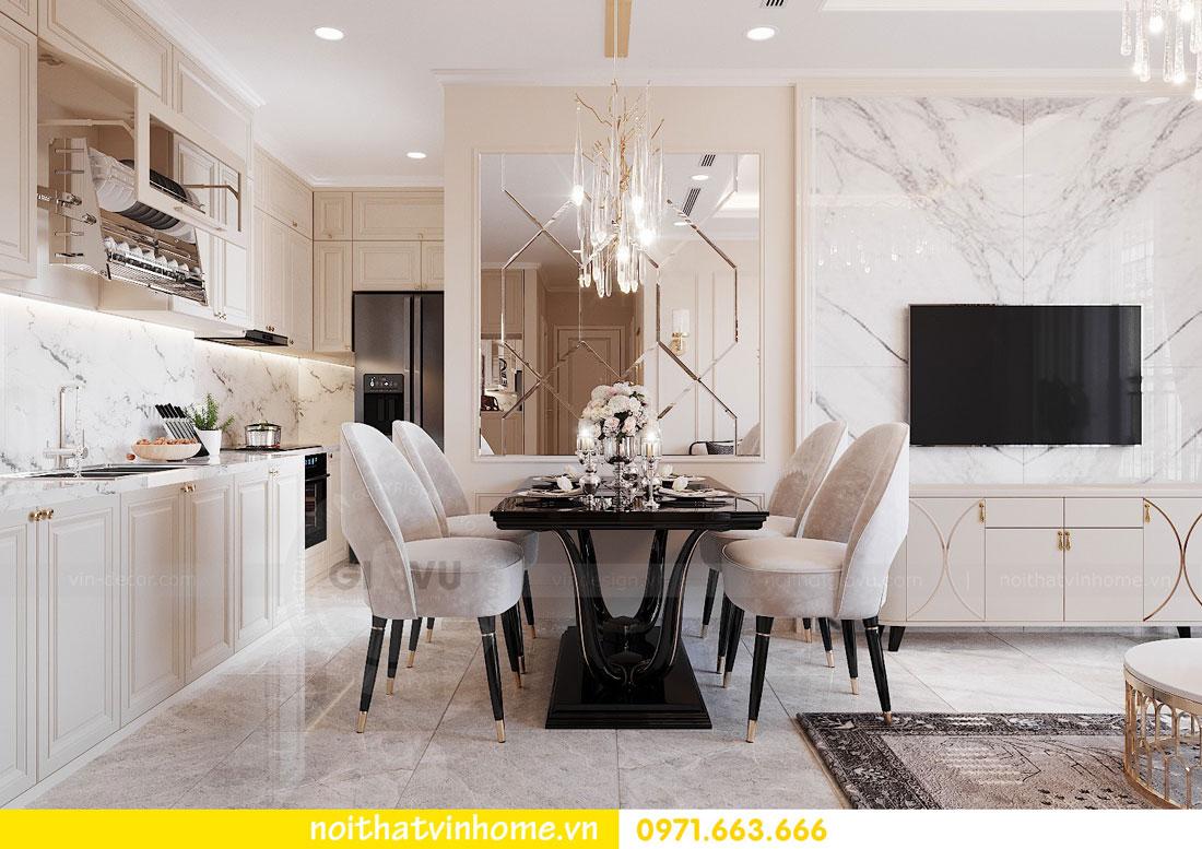 thiết kế nội thất cao cấp căn hộ 3 phòng ngủ nhà anh Phương 05