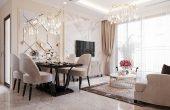 thiết kế nội thất cao cấp căn hộ 3 phòng ngủ nhà anh Phương