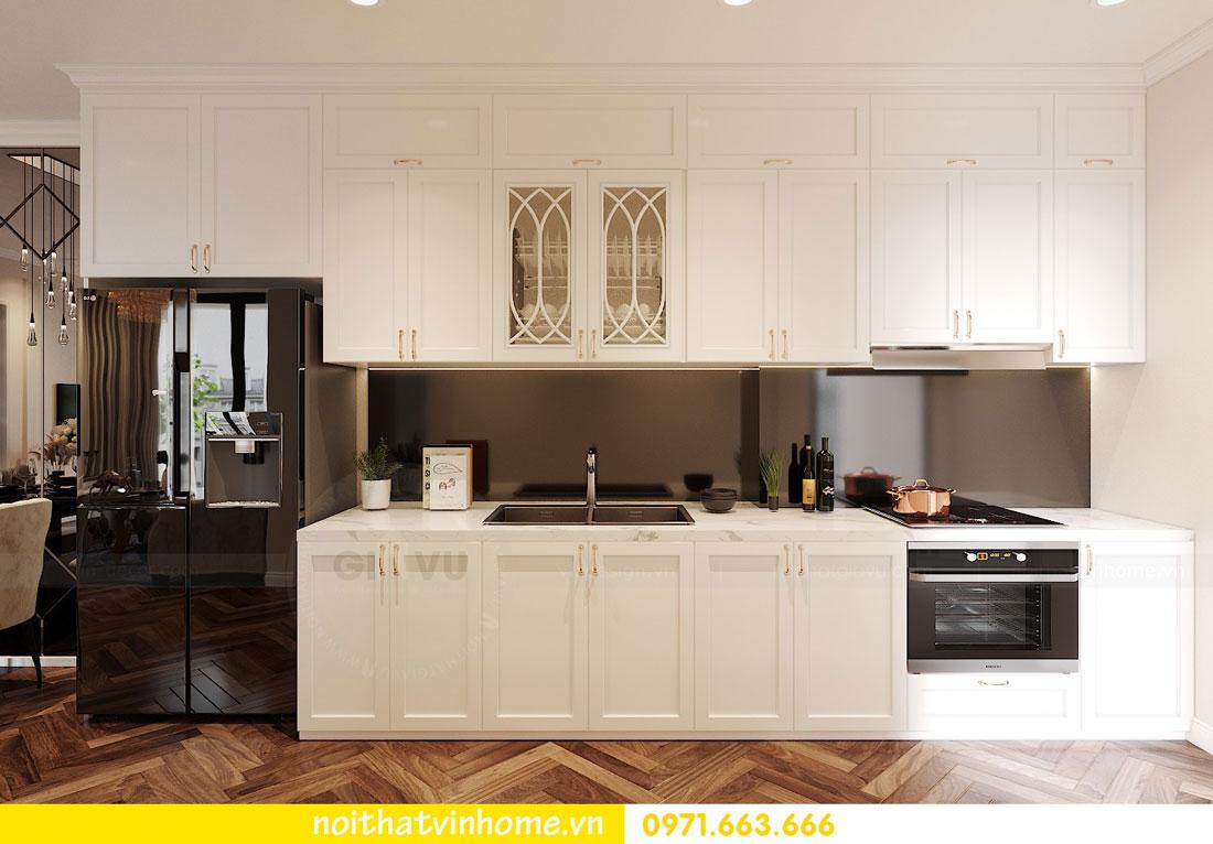 Thiết kế nội thất chung cư 70m2 đẹp sang trọng hiện đại 05