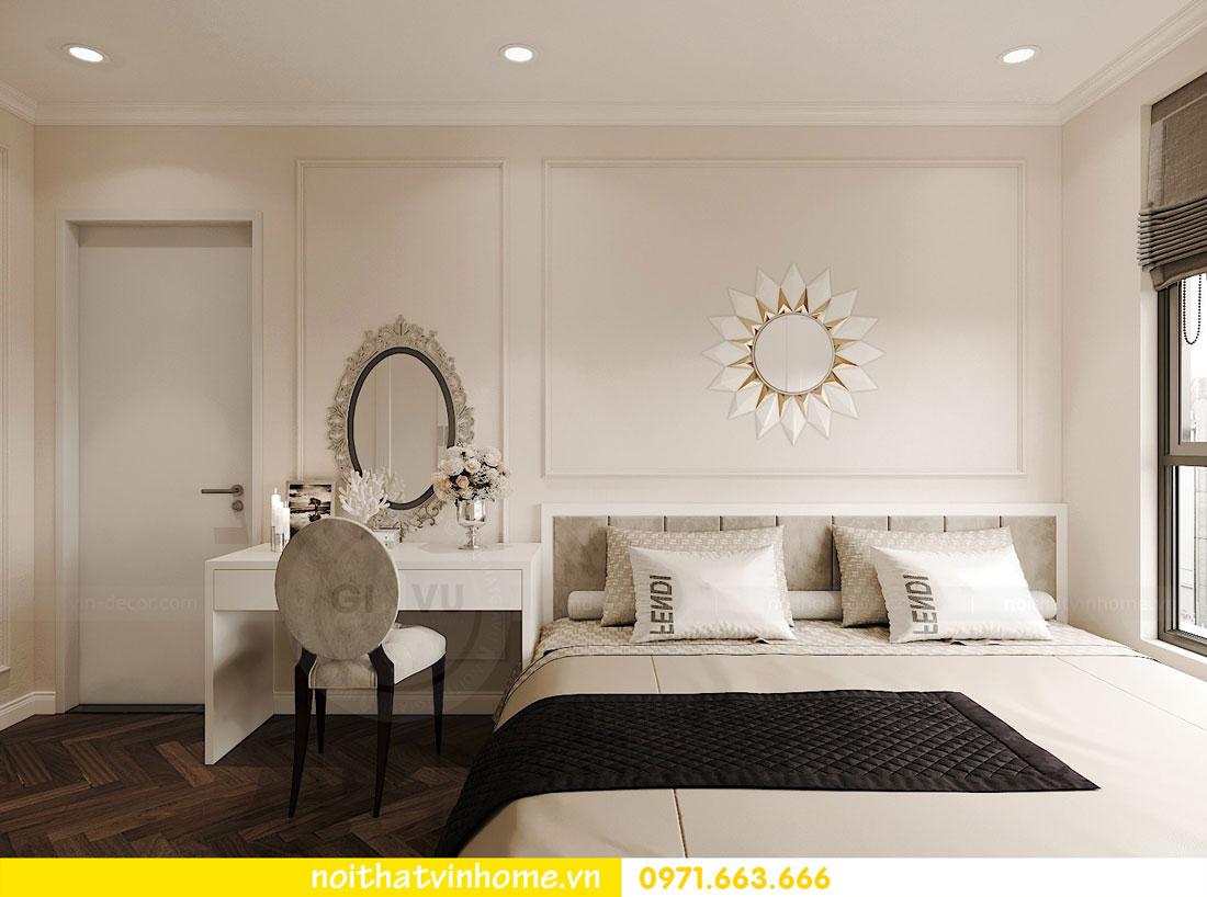 Thiết kế nội thất chung cư 70m2 đẹp sang trọng hiện đại 06