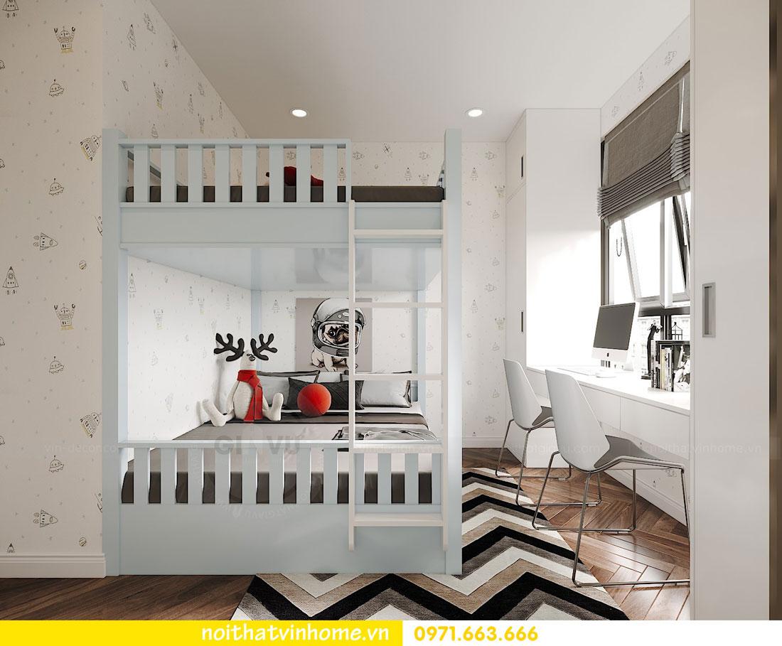 Thiết kế nội thất chung cư 70m2 đẹp sang trọng hiện đại 08