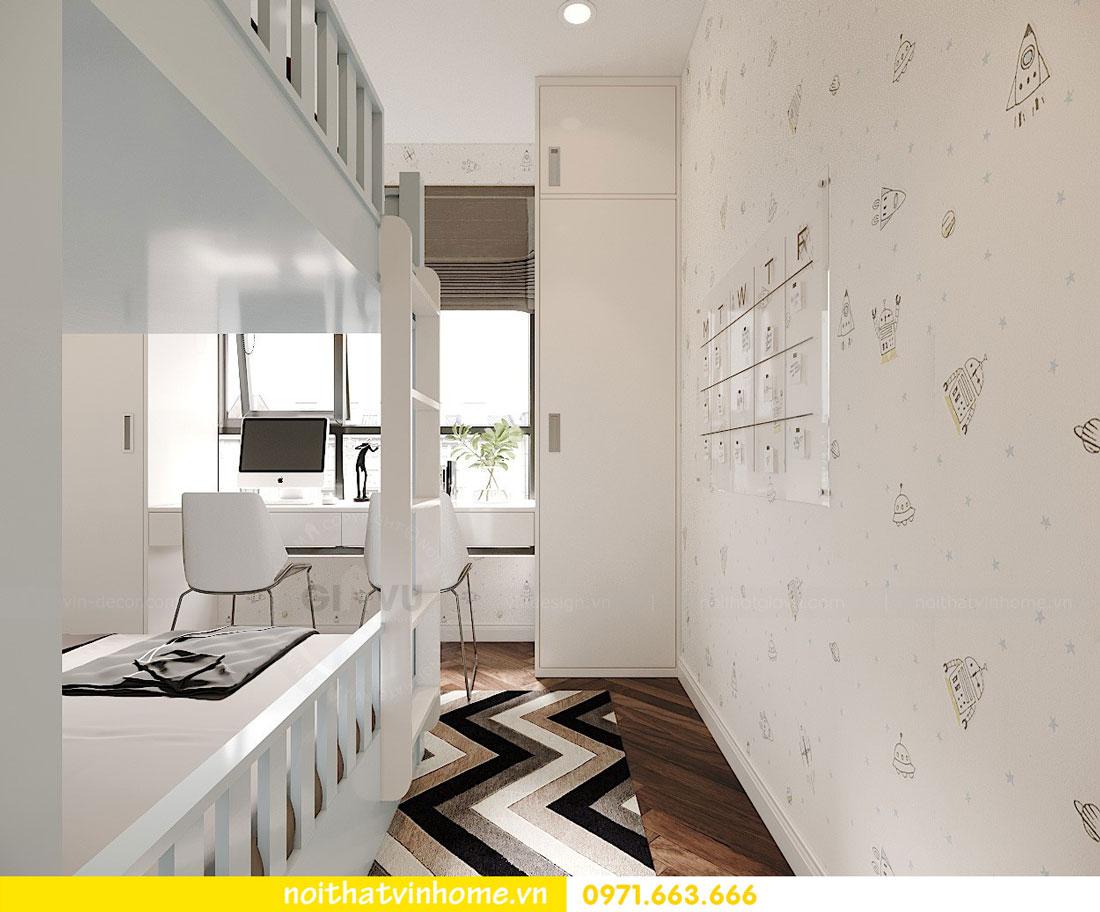 Thiết kế nội thất chung cư 70m2 đẹp sang trọng hiện đại 09