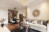 thiết kế nội thất chung cư 70m2 đẹp sang trọng hiện đại