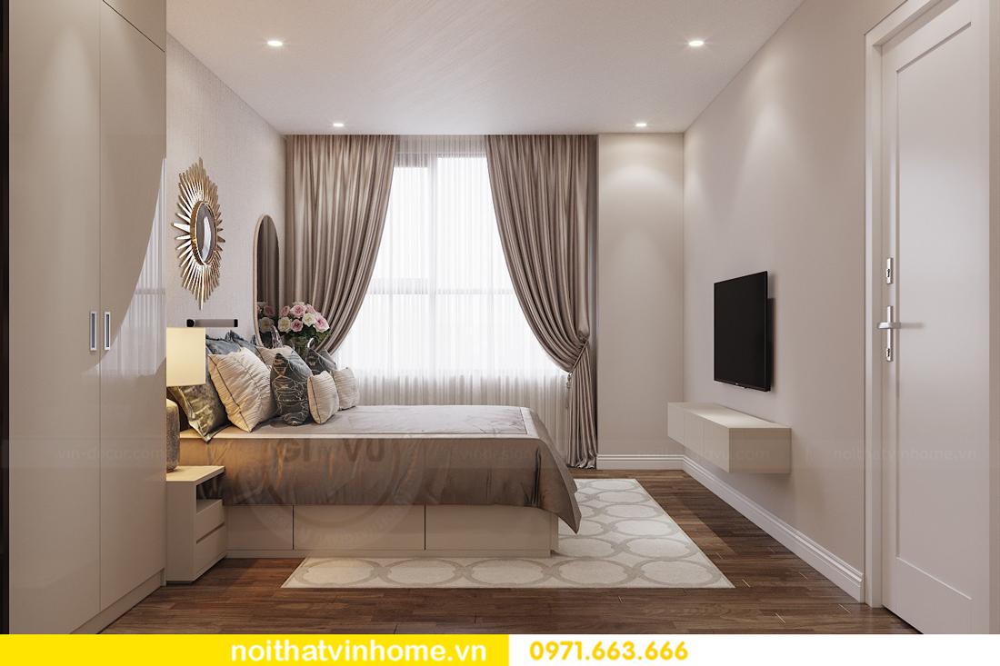 thiết kế nội thất chung cư 98m2 với 3 phòng ngủ nhà anh Sơn 04