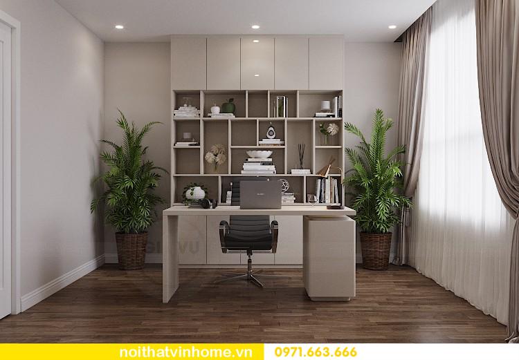 thiết kế nội thất chung cư 98m2 với 3 phòng ngủ nhà anh Sơn 08
