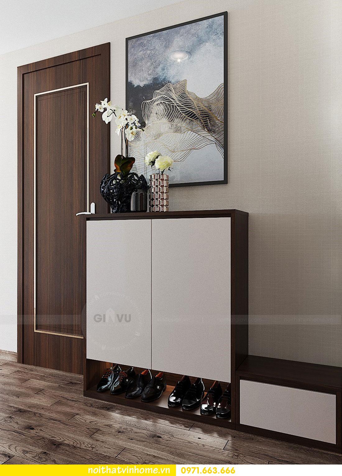 thiết kế nội thất chung cư căn 3 ngủ đẹp hiện đại 01