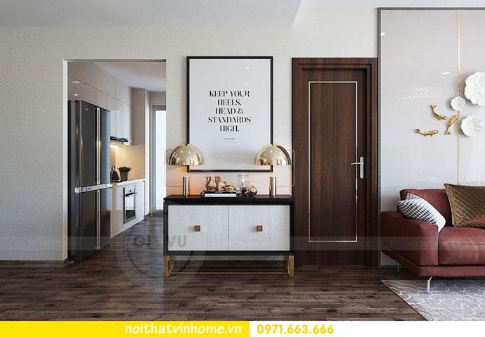 thiết kế nội thất chung cư căn 3 ngủ đẹp hiện đại 03