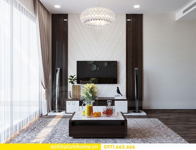 thiết kế nội thất chung cư căn 3 ngủ đẹp hiện đại 06