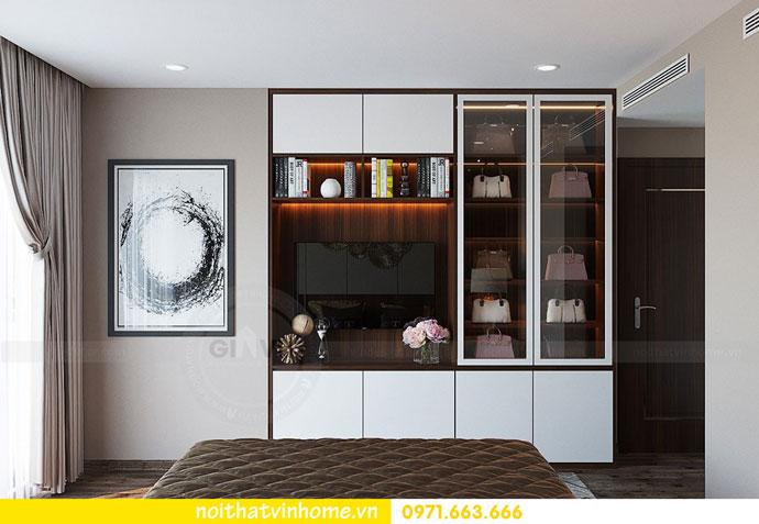 thiết kế nội thất chung cư căn 3 ngủ đẹp hiện đại 09