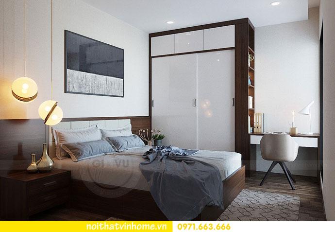 thiết kế nội thất chung cư căn 3 ngủ đẹp hiện đại 11