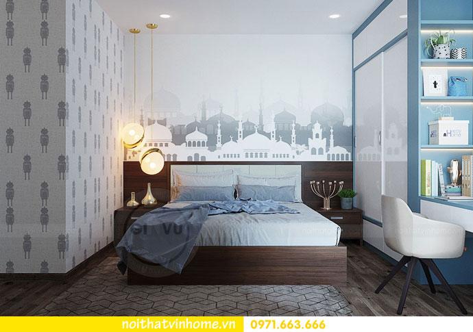 thiết kế nội thất chung cư căn 3 ngủ đẹp hiện đại 12