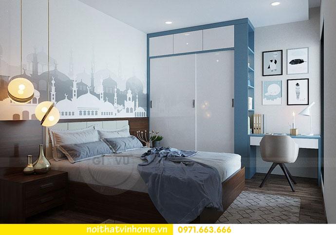 thiết kế nội thất chung cư căn 3 ngủ đẹp hiện đại 13