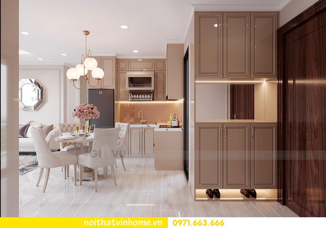 thiết kế nội thất chung cư DCapitale tòa C6 căn 02 chị Thủy 01