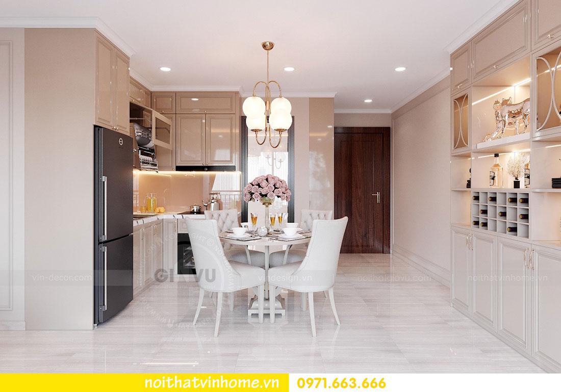 thiết kế nội thất chung cư DCapitale tòa C6 căn 02 chị Thủy 02