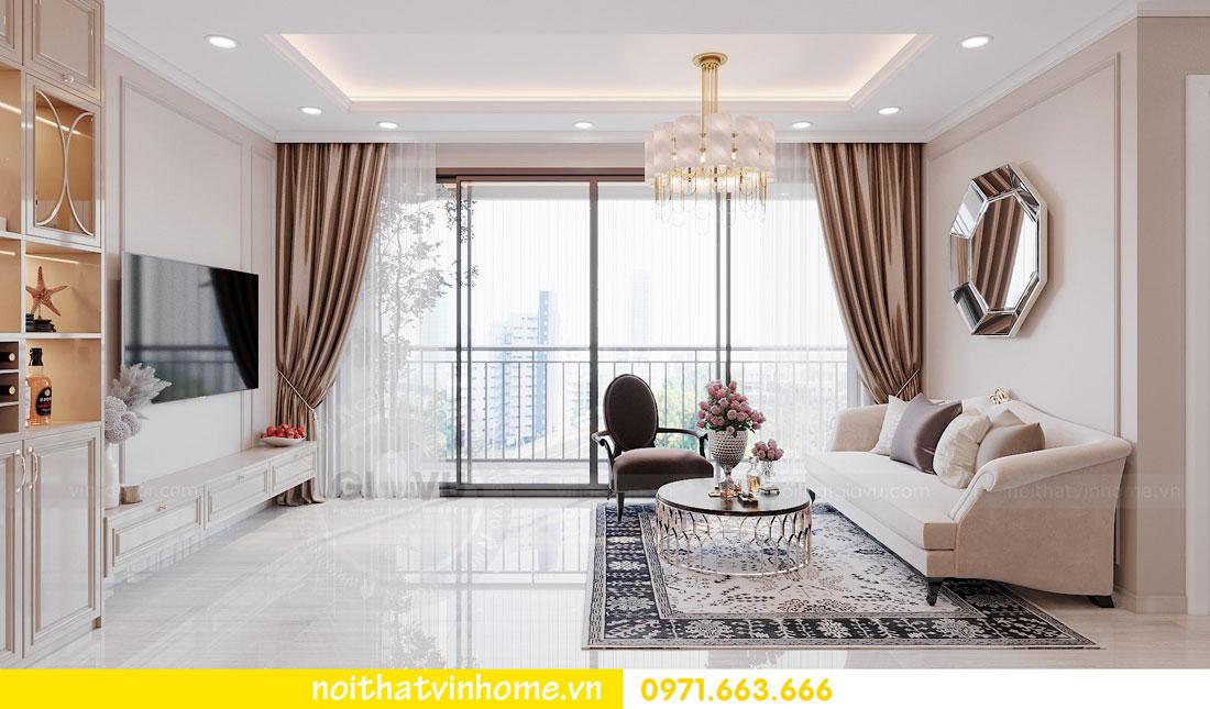thiết kế nội thất chung cư DCapitale tòa C6 căn 02 chị Thủy 03