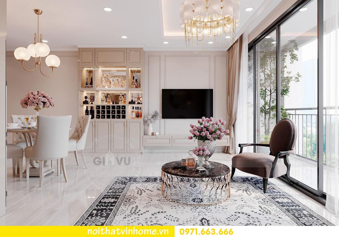 thiết kế nội thất chung cư DCapitale tòa C6 căn 02 chị Thủy 04