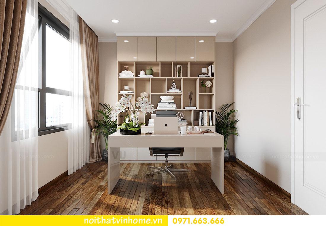 thiết kế nội thất chung cư DCapitale tòa C6 căn 02 chị Thủy 08