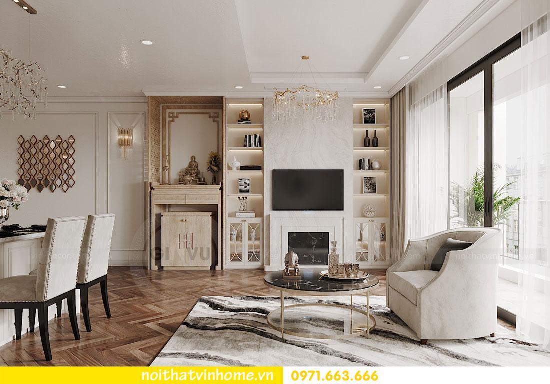 thiết kế nội thất chung cư DCapitale trọn gói nhà anh Lượng 3