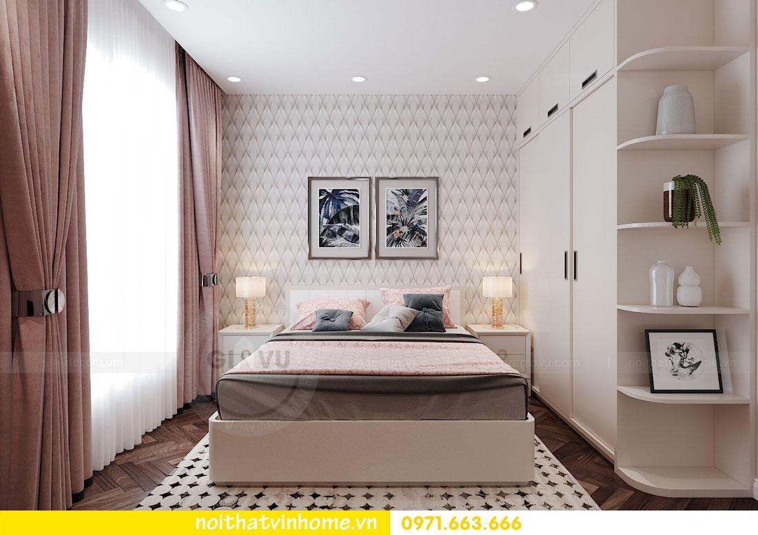 thiết kế nội thất chung cư DCapitale trọn gói nhà anh Lượng 7