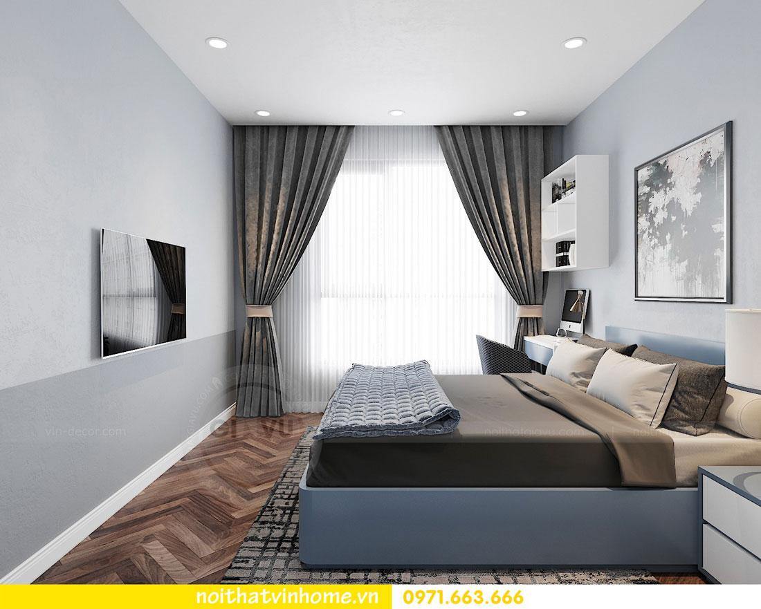 thiết kế nội thất chung cư DCapitale trọn gói nhà anh Lượng 9