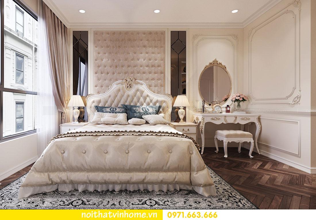 thiết kế nội thất chung cư tân cổ điển nhà anh Kiên 07