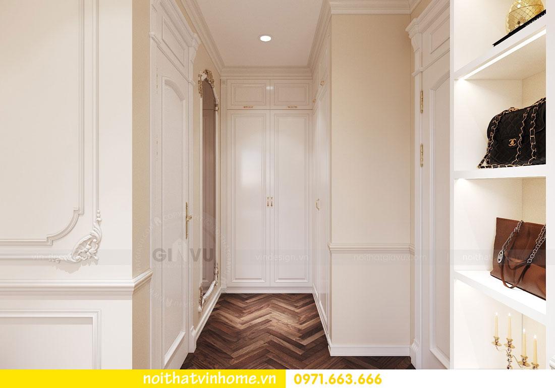 thiết kế nội thất chung cư tân cổ điển nhà anh Kiên 09