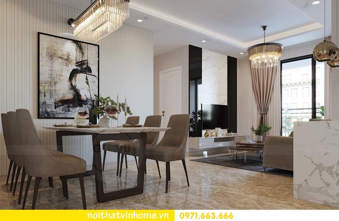 cách thiết kế nội thất căn hộ 90m2 với 3 phòng ngủ đẹp hiện đại 02