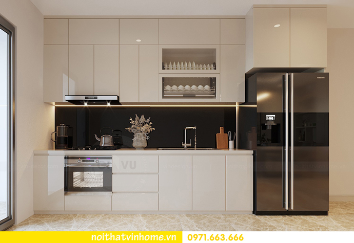 cách thiết kế nội thất căn hộ 90m2 với 3 phòng ngủ đẹp hiện đại 05