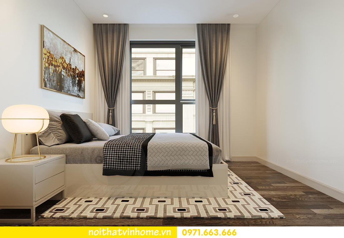 cách thiết kế nội thất căn hộ 90m2 với 3 phòng ngủ đẹp hiện đại 09
