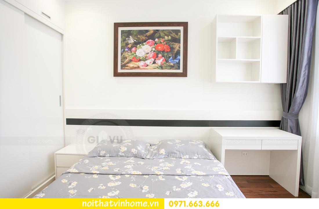 thi công nội thất thực tế căn hộ 2 phòng ngủ nhà anh Nam 19