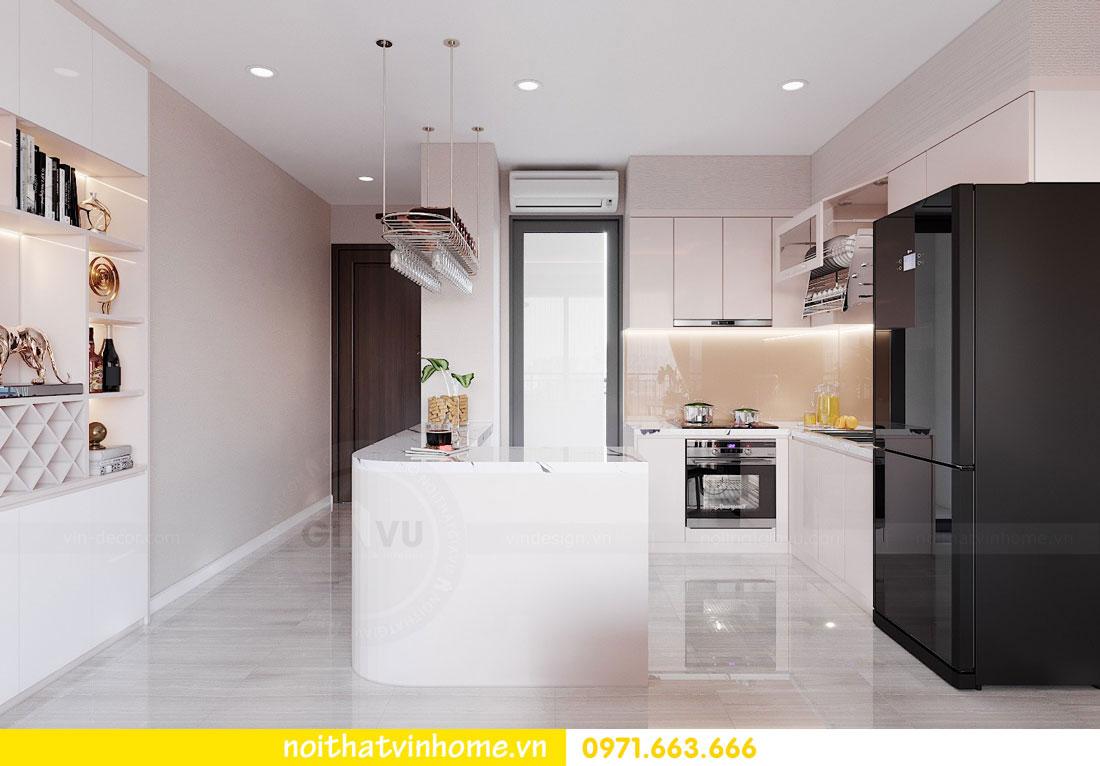 thiết kế nội thất căn hộ 3 ngủ đẹp hiện đại tiết kiệm chi phí 02