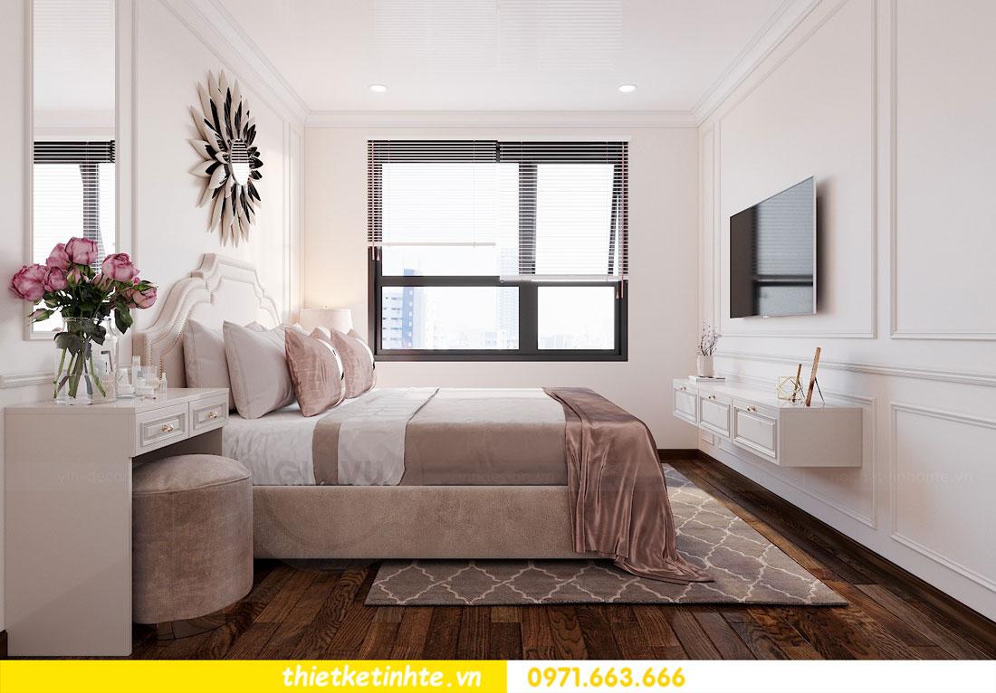 thiết kế nội thất căn hộ 60m2 với 2 phòng ngủ nhẹ nhàng hiện đại 06