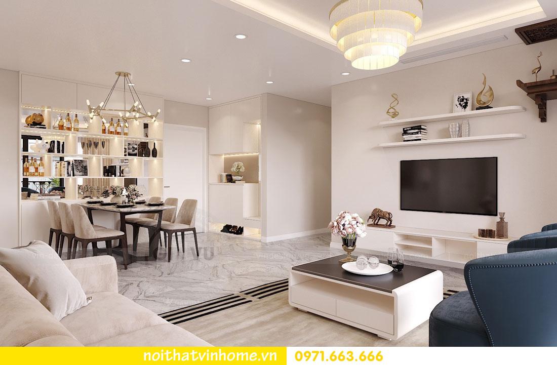 thiết kế nội thất căn hộ chung cư hiện đại nhà anh Kiên 01