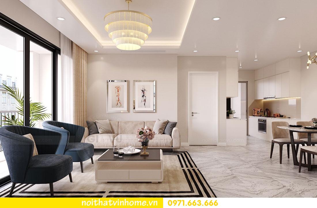 thiết kế nội thất căn hộ chung cư hiện đại nhà anh Kiên 02