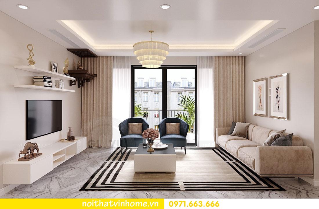 thiết kế nội thất căn hộ chung cư hiện đại nhà anh Kiên 03