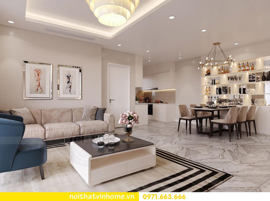 thiết kế nội thất căn hộ chung cư hiện đại nhà anh Kiên 04