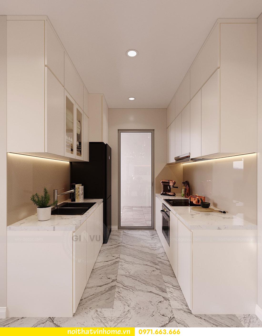 thiết kế nội thất căn hộ chung cư hiện đại nhà anh Kiên 05