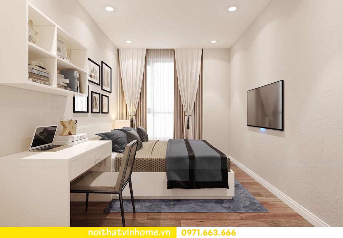 thiết kế nội thất căn hộ chung cư hiện đại nhà anh Kiên 10