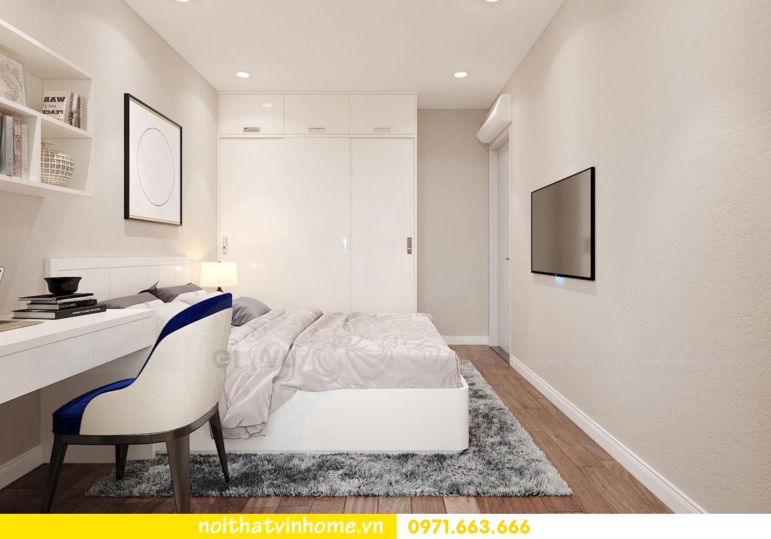 thiết kế nội thất căn hộ chung cư hiện đại nhà anh Kiên 14
